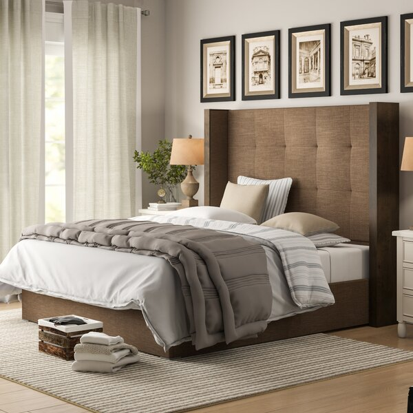 O'brien Upholstered Standard Bed by Brayden Studio